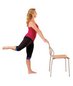 Denise Austin's 15-Minute Chair Workout #health