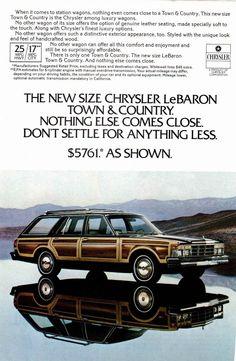 1978 Chrysler LeBaron Town and Country Station Wagon ★。☆。JpM ENTERTAINMENT ☆。★。