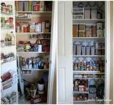 Cupboard organization