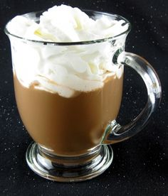 The Kahlua Hot Chocolate ~ is just what it sounds like: hot cocoa spiked with Kahlua. It's hardly even a recipe – you just make the cocoa however you like it, then pour in some Kahlua. This is an absolutely gorgeous drink recipe to enjoy anytime you're in the mood for hot chocolate. It makes a great dessert alternative, and is wonderful to sip along on when it's cold out