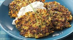 Zucchini, Carrot, and Parsnip Patties