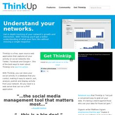 Website 'http://thinkupapp.com/' snapped on Snapito!
