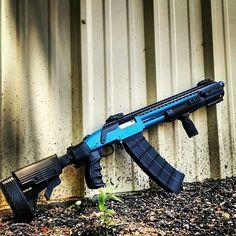 Black Aces shotgun