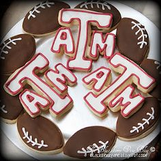 Yum! Aggie cookies!