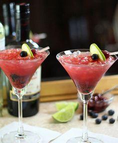 Tequila Smash and Homemade Maraschino Cherries Recipe