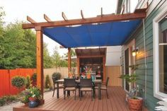 Backyard inspiration complete with a pergola