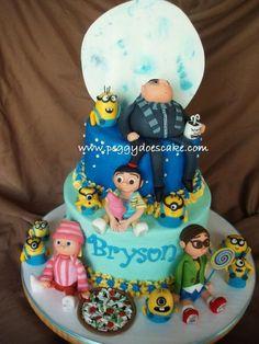 Despicable Me Cake!