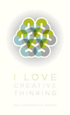 I Love Creative Thinking
