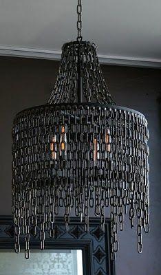 chain chandelier - wow