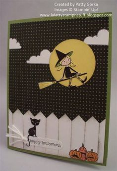 Halloween Witch by LaLatty - Cards and Paper Crafts at Splitcoaststampers