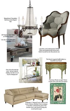 Arts and Classy - Home Decorating on a Budget: Eclectic Home Decor Must Have's