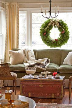 Window Wreath | Traditional Home®