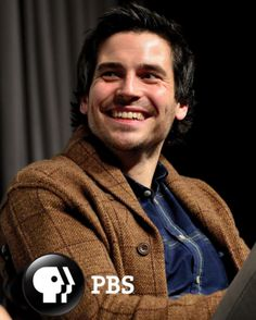Thomas: Played by Rob James Collier.   * Photo: PBS.  Look at how happy and sweet he looks!