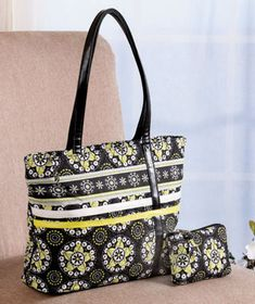 2-Pc. Quilted Travel Tote Sets