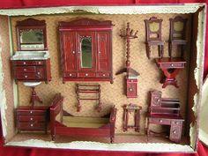 Dollhouse furniture in original box
