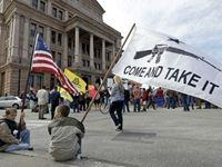 Gun Owners Turn Ohio Gun-Control Rally into 'an NRA Rally'