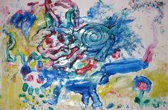 Jaeki Paintin'  Fingerpaint on Glossy