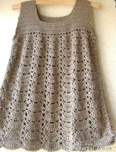 Crochet Baby Dress - Chart <3