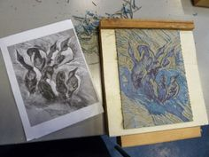 Jacqui Dodds Art: Reduction Lino print workshop at Birmingham ...