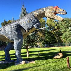 Ogden's George S. Eccles Dinosaur Park is an eight-acre outdoor museum, unique in its exhibition of full-bodied creatures of the Dinosaur Age. See prehistoric crawlers, predators, marine creatures and flying reptiles dating from the Permian through Cretaceous periods. Realistic sculptures of more than 125 dinosaurs fill the park in a native Utah setting, all reproduced based on the findings of fossil skeletal remains. You can hear the dinosaurs walking and roaring, the crash of trees brought down by powerful herbivores and the calls of Pteranodons gliding through the air brought to you by a high quality sound system throughout the park. Also featured is a new 16,000 square foot working museum including exhibit space, a large paleontology laboratory, offices and a lecture hall. 801-393-DINO, www.dinosaurpark.org
