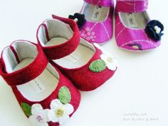 Sew some baby shoes!