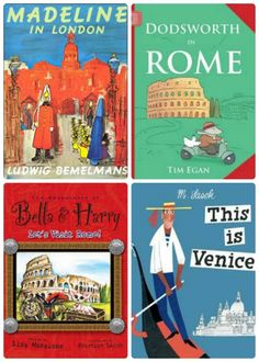 Wonderful book series that fascinate kids as they travel the globe!