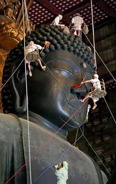 Japanese Buddhist Temple Todaiji - Great Buddha of Nara, Japan