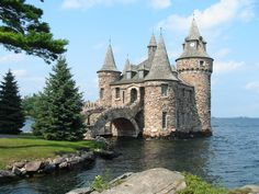 thousand islands new york, vacat, castles, beauti, travel in usa
