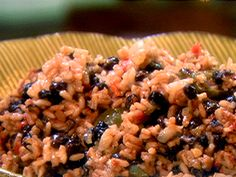 Black Beans and Rice Recipe : Ingrid Hoffmann : Food Network - FoodNetwork.com
