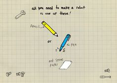 How to draw robots slideshow