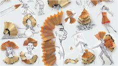 #Manualidades con restos de #lapices para decorar #dibujos  #DIY #ecología #reciclar #reutilizar vía @eitbcom