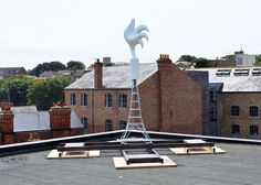 Rootoftwo create headless weather vanes that represent fear levels