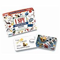 I Spy Preschool Game - Players match riddles with pictures. Interlocking pairs ensure only the correct matches are possible. * Riddles and photographs from the popular I Spy book series. * Safe for toddlers: no small parts.