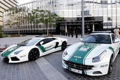 The Dubai police have the most expensive fleet of cars in the world