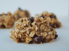 Chocolate Chip Banana Oat Bread Bites | The Simple Veganista