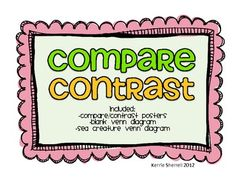compar and contrast essays