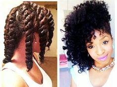 Great chunky twist out