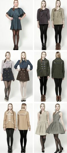 Dear Creatures clothing, Fall 2011
