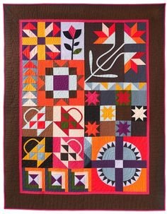 Johanna Masko Quilts,  solids