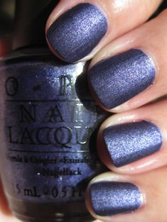 """OPI """"Russian Navy Suede"""""""