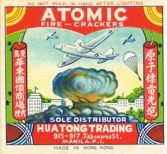 Atomic Firecracker Pack Label by Mr Brick Label