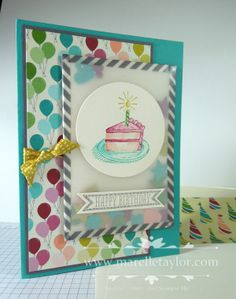 Marelle Taylor , Thinkspot: Washi Shaker Card