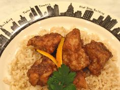Crockpot Orange Chicken (GF, DF, soy free)