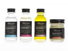 Natural Ingredients for Skin Care From S.W. Basics Brooklyn - Looks like an interesting brand.
