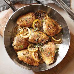 cook, crispi chicken, food, lemon chicken, chicken thighs, eat, yummi, recip, crispy chicken
