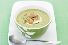 Broccoli and leek soup