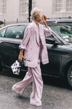 Spring Summer 2019 Street Style from New York Fashion Week by Collage Vintage #streetstylewinter