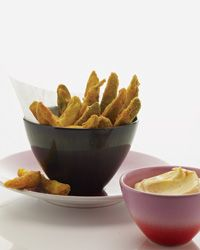 Fried Pickles with Spicy Mayonnaise Recipe on Food & Wine