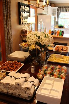 Food ideas for the graduation party