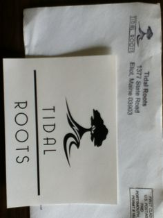 Tidal Roots Sticker